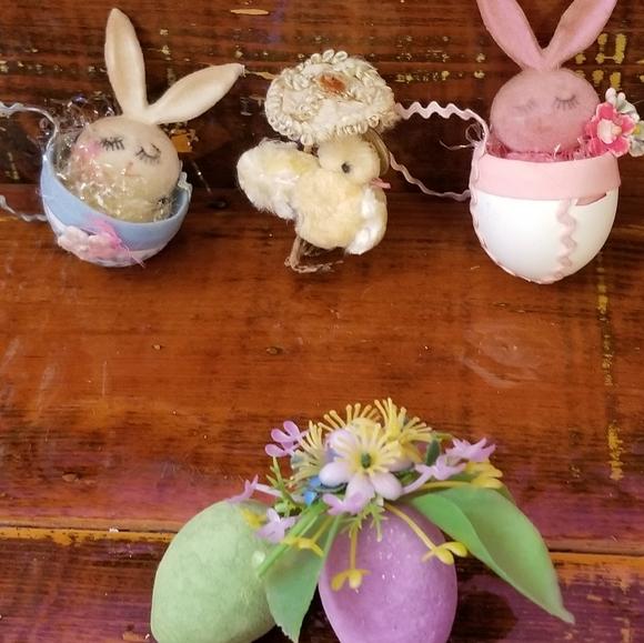 Vintage Easter Decor, CRAFT SUPPLIES